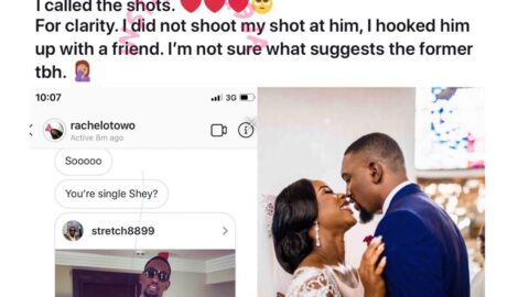 Nigerian lady reveals how she hooked her friend up with the man she eventually married. [Swipe]