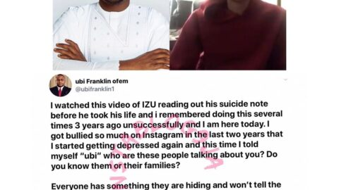 I attempted suicide several times three years ago — Music Executive Ubi Franklin. [Swipe]