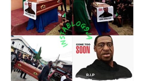 Nigerian pastor 'reburies' George Floyd in Mbaise, Imo State .