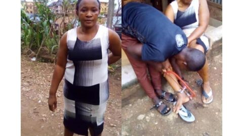 Domestic violence: Man chains wife to a pillar for 10 hours in Ebonyi . .