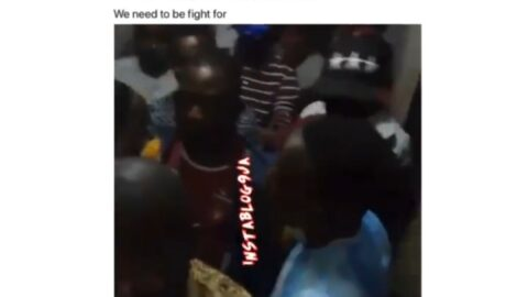 """COVID-19: """"Is this social distancing?,"""" Men lament, after being arrested for violating curfew time due to traffic congestion in Ikeja, Lagos"""