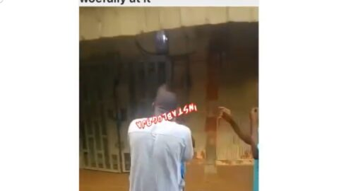 Boastful man disgraced by the man he was trying to beat because of N50, in Wuse market, Abuja