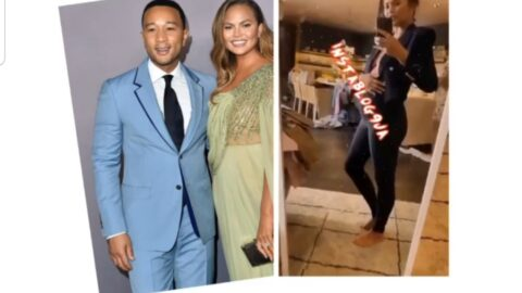 Singer John Legend and model Chrissy Teigen reveal they are expecting their 3rd child