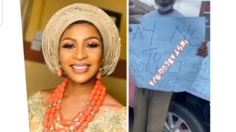 Family protests over the death of bride-to-be who was crushed to death while on her way to work in Lagos State