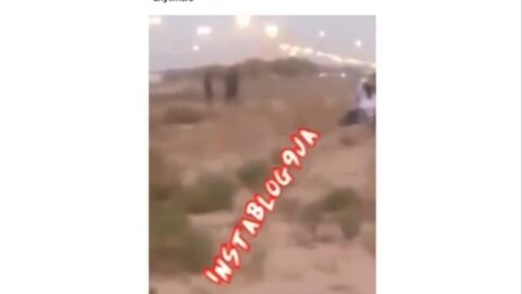 """""""You shouldn't stay illegally anywhere,"""" NIDCOM boss, Dabiri, reacts to video of alleged illegal immigrants stranded in Dubai desert. [Swipe]"""