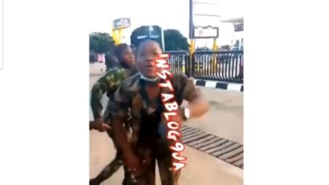 Panic as newly recruited Nigerian Soldiers vow to deal with Nigerian civilians