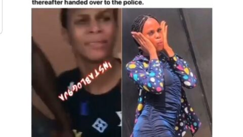 Crossdresser Lit'Unique nabbed while trying to deceive a man in Sagamu, Ogun State