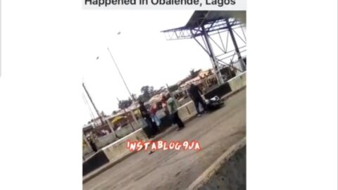 Bribe-seeking Lagos police officers harass rider and seize his bike in Obalende