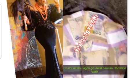 With N15m cash, Bobrisky cures the selective amnesia of Lagos girls forgetting his superiority over them