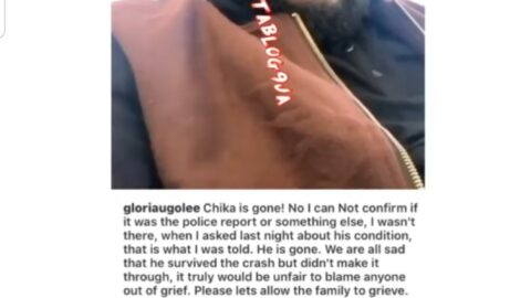 Pilot Chika's Death: Film Director Ugolee retracts her 'police report' claim. [Swipe]