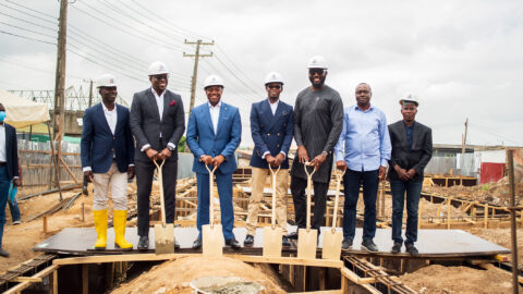 Beyond Building Sets for Developmental Projects around Lagos…Flags of Phoenix Mall Construction