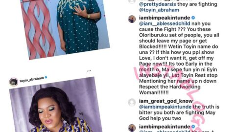 Actress Akintunde curses those fanning the embers of war between her and Toyin Abraham