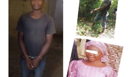 Married bike rider leaves pregnant wife at home to rape 12-yr-old girl to death