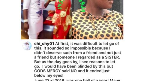 """Graphic: """"I wholeheartedly forgive you,"""" lady openly tells her ex bestie who slashed her face with a razor blade during a minor disagreement. [Swipe]"""