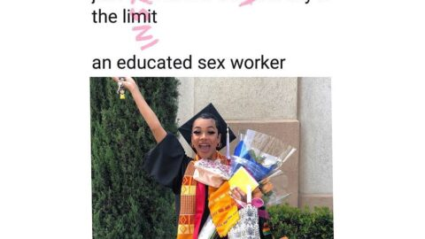 """""""The sky is the limit,"""" sex worker affirms, as she graduates"""