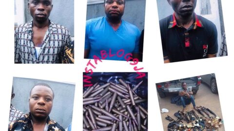 Two soldiers, others arrested for bullion van robbery in Ebonyi State .