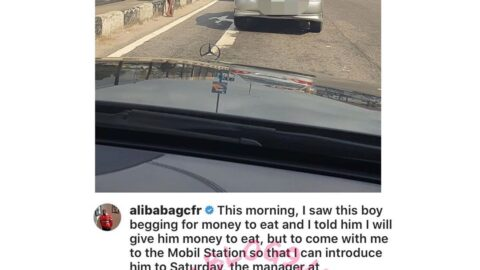 Comedian Alibaba narrates his encounter with a boy begging for money [Swipe]
