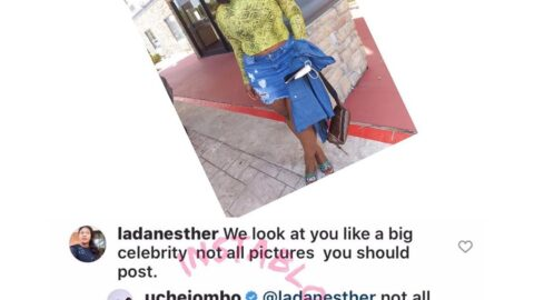 Moral police apologizes after actress Uche Jombo carpeted her