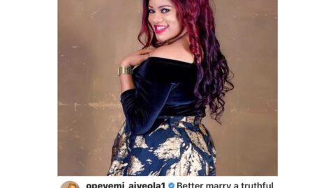 It's better to marry a truthful single mom than a pretentious single lady that has done many abortions — Actress Aiyeola