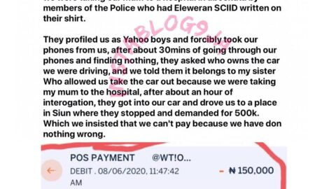 How the police abducted and extorted N300k from me while rushing my mom to the hospital in Abeokuta, Ogun State — Adebola. [Swipe]