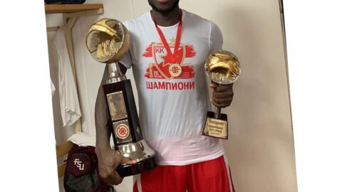 Weeks after recovering from COVID-19, 27-yr-old Nigerian basketball player dies of heart attack during training .