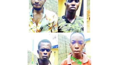 Brothers abduct their youngest brother and extort their granddad in Imo .