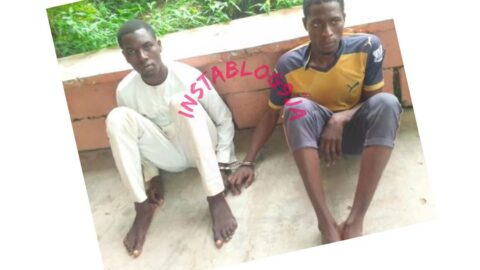 Two teachers arrested for defiling four female students .