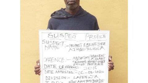 Pastor impregnates two underage sisters, scam their mom of N2million .