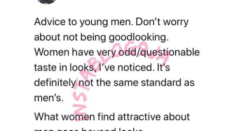 Men shouldn't worry about being good looking — Engr. Abimbola