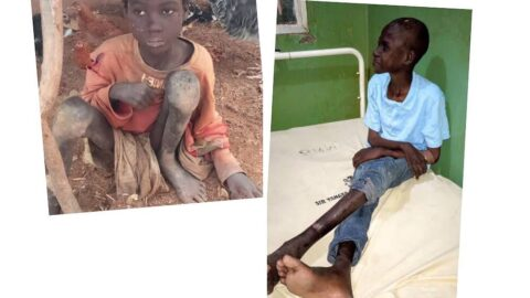 Epileptic boy chained for two years by his family, rescued in Kebbi .