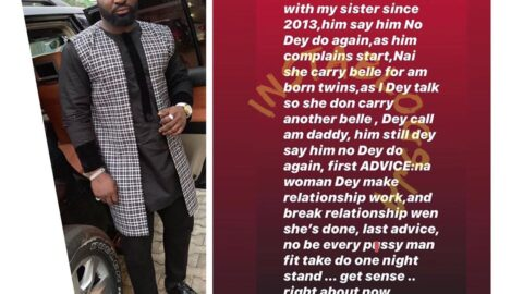 My sister's boyfriend is still trying to break up with her since 2013 — Singer Harrysong