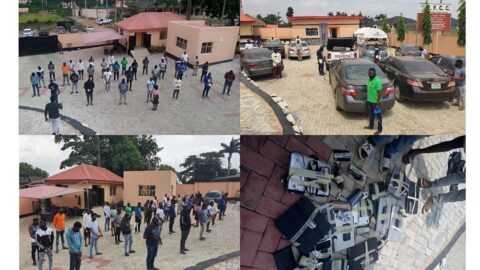 EFCC Arrests 3 Corps Members, 19 Undergraduates, 10 Others for Alleged Internet Fraud .