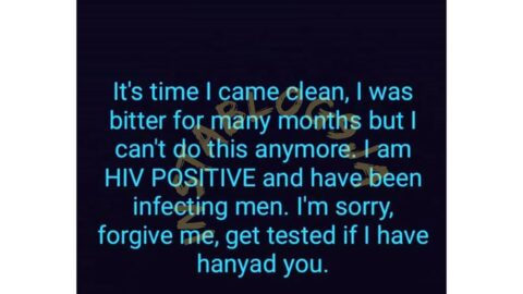Kenyan lady apologizes to all the men she has slept with as she reveals her HIV status