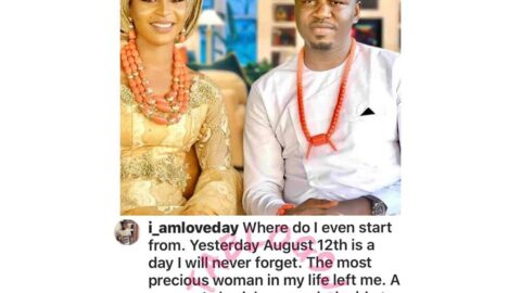 Fiancé of lady crushed to death in Lagos — weeks to their wedding — breaks silence. [Swipe]