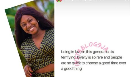Being in love in this generation is terrifying — Actress Yvonne Jegede