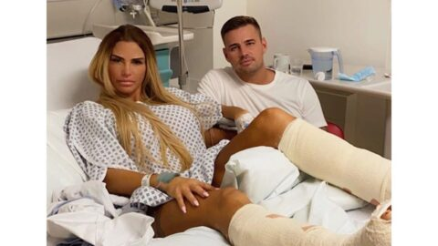 Katie Price banned from having sex with her boyfriend .