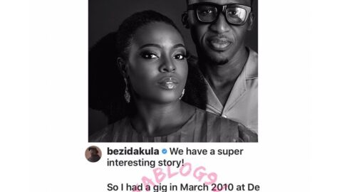 Singer Bez Idakula and wife, Tito, share the intriguing story of how she spoke their marriage into existence. [Swipe]