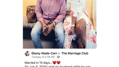 Lady reveals how she got married, 15 days after meeting her man. [Swipe]