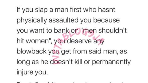 If you slap a man first, you deserve any blowback you get — Author Nzimora