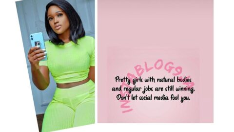 Don't be fooled. Pretty girls with natural bodies and regular jobs are still winning — Reality star, Cee-C