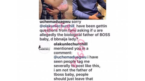 I'm not the father of Tboss' baby — Olakunle Churchill