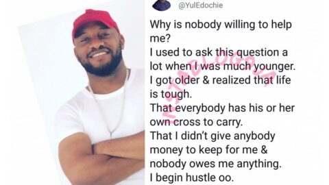 I began hustling when I realized nobody owes me anything — Actor Yul Edochie