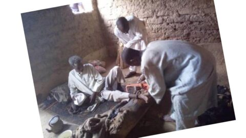 Police rescue man chained by father for 30yrs in Kano . .