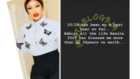 2020 has blessed me more than my 34yrs on earth — Actress Tonto Dikeh