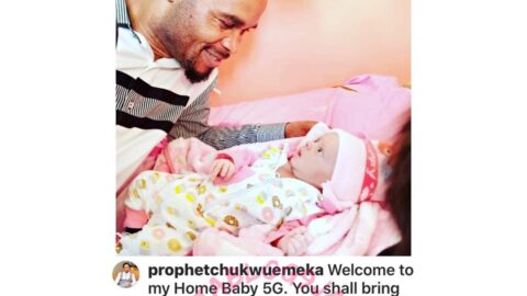 Prophet Bahose Indaboski and wife welcome 5th child
