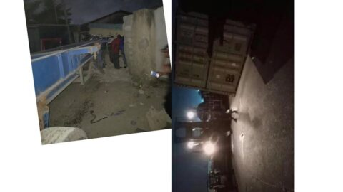 Graphic: Again, container crushes two women to death in Lagos [Swipe]