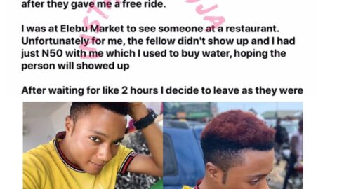 How a couple assaulted me for 'looking gay' in Ibadan, Oyo State — Model Bodilaw. [Swipe]