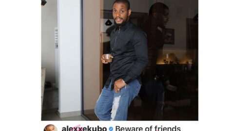 Beware of friends that won't support your business but will wish Drake a happy birthday on IG — Actor Alexx Ekubo