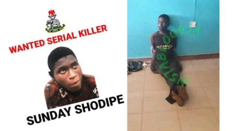 Just in: Escaped suspected serial killer rearrested in Ibadan .