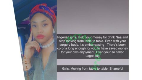 Nigerian girls, hold your money for drinks and stop moving from table to table — Lagos socialite, Pam Briggs